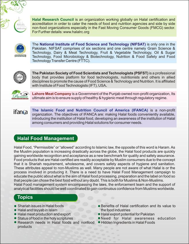 Halal Food Management